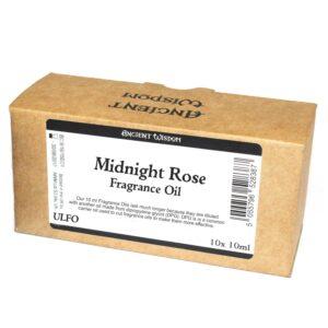 10 ml Midnight Rose Fragrance Oil Unlabelled Fragrance Oils