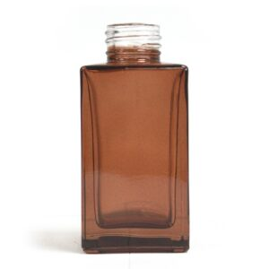 100 ml Square Long Reed Diffuser Bottle Amber Diffuser Bottles