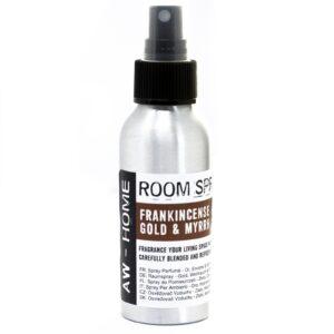 100ml Room Spray Gold Frankincense and Myrrh AW-Home Room Sprays 100ml