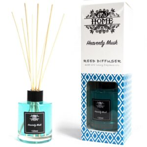 120ml Reed Diffuser  Heavenly Musk Home Fragrance Reed Diffusers - 120ml