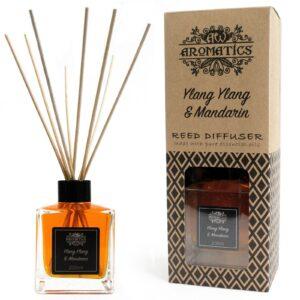 200ml Ylang  and Mandarin Essential Oil Reed Diffuser Pure Essential Oils Reed Diffusers - 200ml