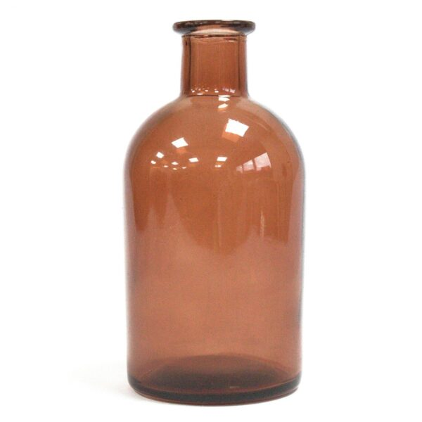 250 ml Round Antique Reed Diffuser Bottle Amber Diffuser Bottles