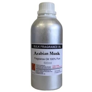 500g  Pure  FO Arabian Musk 500ml Fragrance Oils NO dilution
