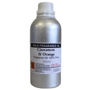500g  Pure  FO Cinnamon and Orange 500ml Fragrance Oils NO dilution