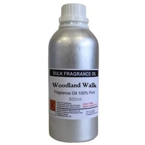 500ml  Pure  FO Woodland Walk 500ml Fragrance Oils NO dilution