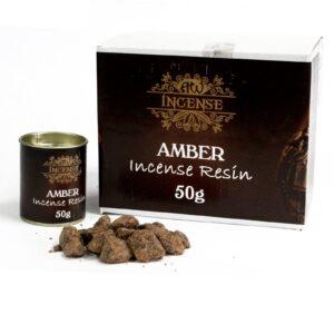 50gm Amber Resin AW Incense Resin 50g pack