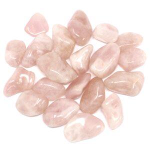 African Gemstone Quartz Rose African Tumbled Gemstones