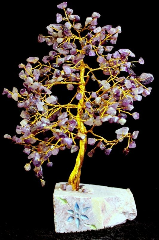 Amethyst 320 Stone Indian Gemstone Trees