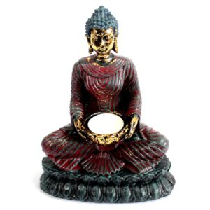 Antique Buddha Devotee Candle Holders Antique Buddha Collectables
