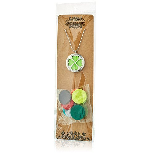 Aromatherapy Diffuser Necklace Flower  of Life 30mm Diffusers