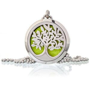 Aromatherapy Diffuser Necklace Tree of Life 30mm Aromatherapy Diffuser Necklaces
