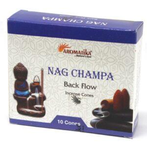 Aromatic Backflow Incense Cones Nag Champa Aromatica Backflow Incense Cones