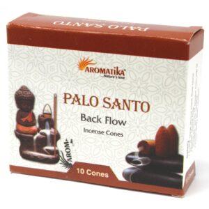 Aromatic Backflow Incense Cones Palo Santo Aromatica Backflow Incense Cones
