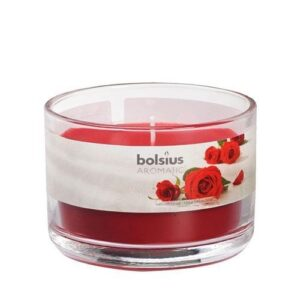 Aromatic Scented Candle Jars Velvet Rose Aromatic Jar Candles