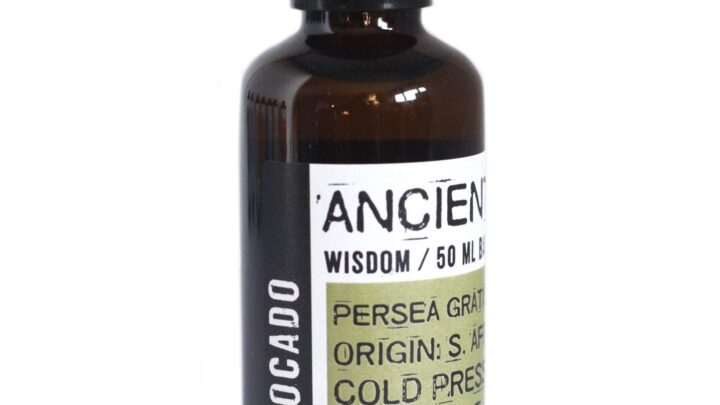 Avocado Oil 50ml Base Oils - 50ml Amber Bottle