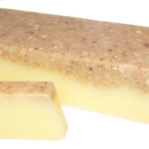 Banana and Coconut Smoothie Soap Loaf Wild & Natural Hand-Crafted Soap 1.3kg and Slices
