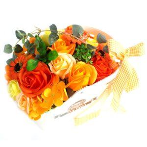 Basket Soap Flower Bouquets