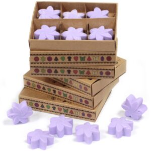 Box of 6  Wax Melts Lavender Fields Natural Soy Wax Melts