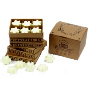 Box of 6  Wax Melts Lemon Harvest Natural Soy Wax Melts