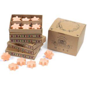 Box of 6 Wax Melts Tuberose Natural Soy Wax Melts
