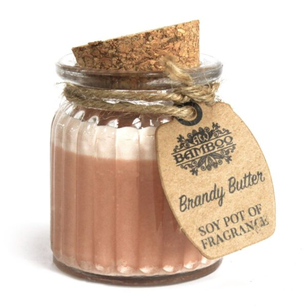 Brandy Butter Soy Pot of Fragrance Candles Soy Pot of Fragrance Candle