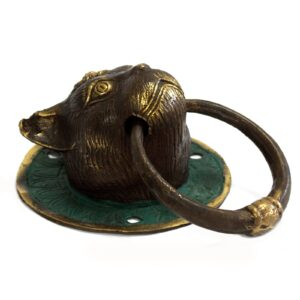 Brass Door Knocker Cats Head Brass Door Knockers