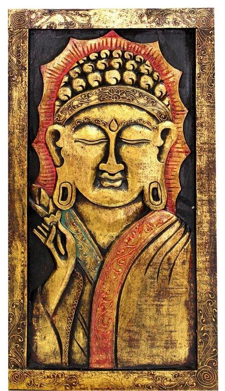 Buddha Stand Bali Original Art