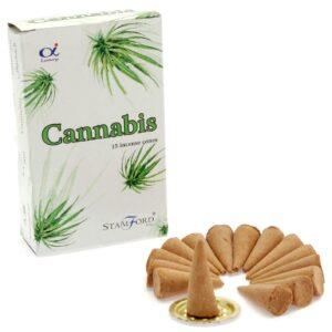 Cannabis Cones Stamford Premium Incense Cones