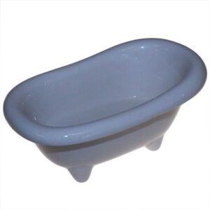 Ceramic Mini Bath Ivory Ceramic Baths for Gift-packs & Display