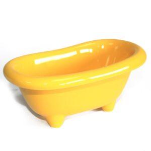 Ceramic Mini Bath Lemon Ceramic Baths for Gift-packs & Display