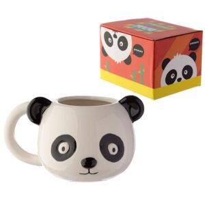 Ceramic Panda Head Shaped Mug Mugs as Gifts