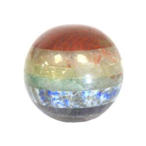 Chakra Spheres 4050mm Bonded Chakra Stones