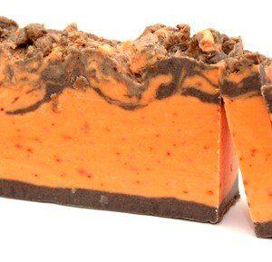 Cinnamon and Orange Olive Oil Soap Loaf Artisan Olive Oil Soaps 1.25kg and Slices