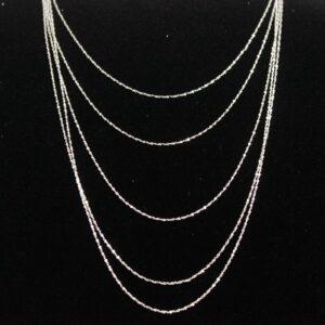 Classic 925 Silver Chains 45cm 925 Silver Curb Chains