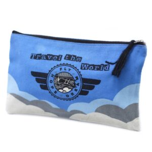 Classic Zip Pouch Travel the World Classic Zip Pouches