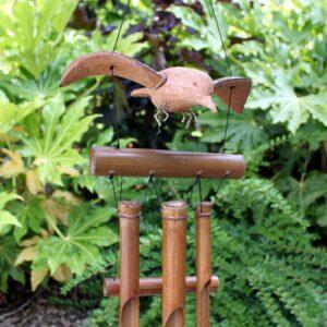 Coconut Blackbird Windchimes Wild Wild Bamboo Wind Chimes