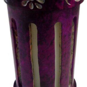 Coloured Reed Diffuser Purple Coloured Soapstone Fragrance Range