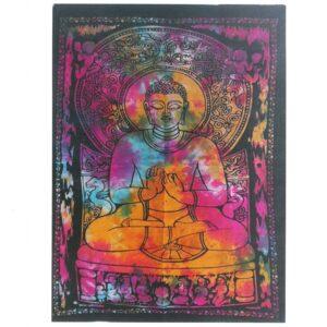 Cotton Wall Art Peaceful Buddha Cotton Wall Hangings