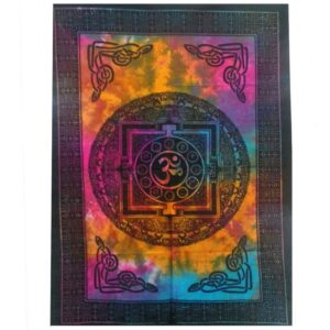 Cotton Wall Art Sacred OM Cotton Wall Hangings