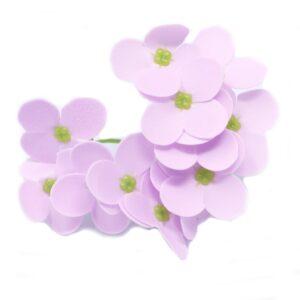 Craft Soap Flowers Hyacinth Bean Lavender Craft Soap Flowers