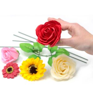 Craft Soap Flowers
