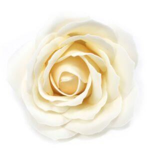 Craft Soap Flowers Lrg Rose Ivory Craft Soap Flowers