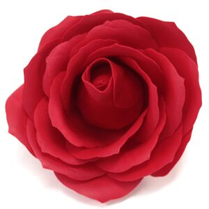 Craft Soap Flowers Lrg Rose Red Craft Soap Flowers