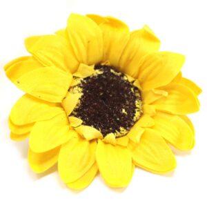 Craft Soap Flowers Lrg Sunflower Yellow Craft Soap Flowers