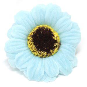 Craft Soap Flowers Sml Sunflower Blue Craft Soap Flowers
