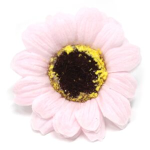 Craft Soap Flowers Sml Sunflower Pink Craft Soap Flowers
