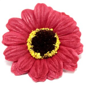 Craft Soap Flowers Sml Sunflower Red Craft Soap Flowers