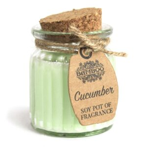Cucumber Soy Pot of Fragrance Candles Soy Pot of Fragrance Candle