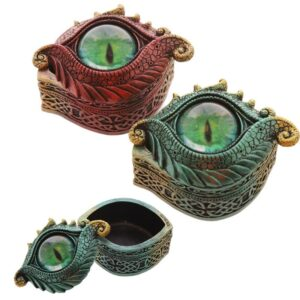 Dark Legends All Seeing Eye Dragon Trinket Box Dark Legends Dragons