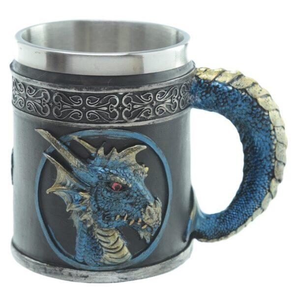 Dark Legends Decorative Dragon Tankard Myth & Magic